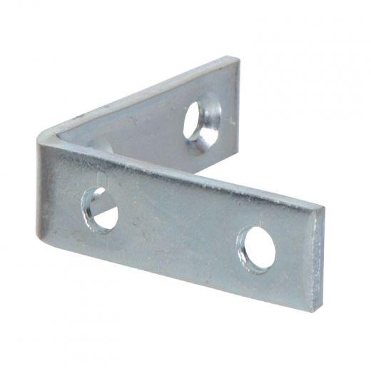 "3-1/2"" x 3/4"" Zinc Plated Corner Brace"