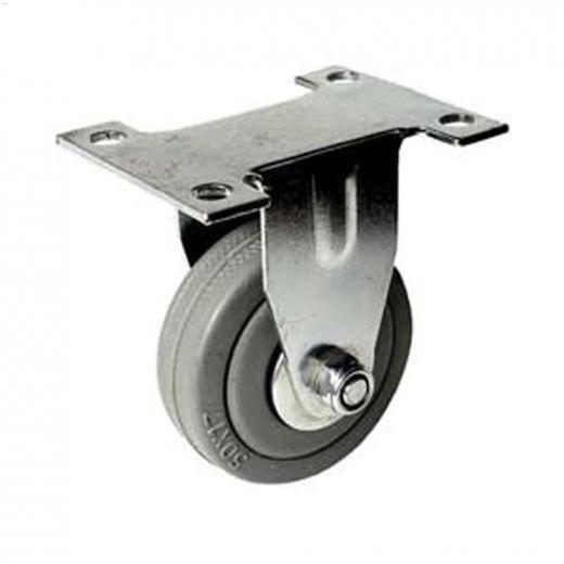 """3"""" Gray Wheel G1 Series Rigid Caster"""