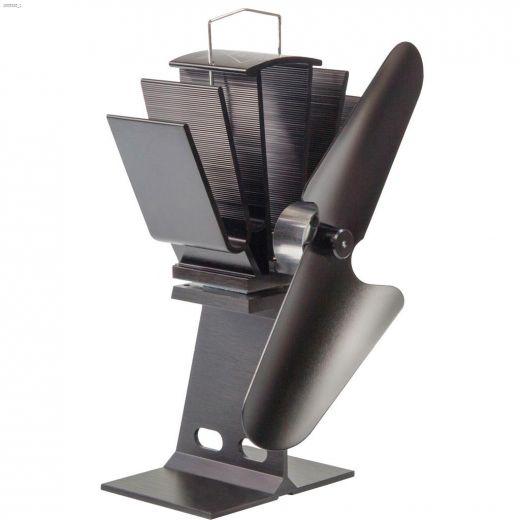 "3\"" x 5-1\/2\"" x 8-1\/2\"" Black Ecofan Original"
