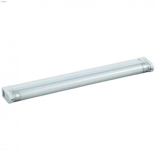 1 Light T5 8 Watt White Fluorescent Slimline Strip Light