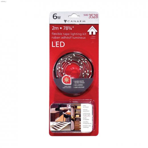 6 Watt White LED Tape Kit
