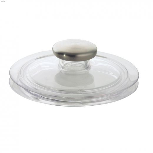 Clear\/Brushed Stainless Steel Forma 2 Sink Stopper