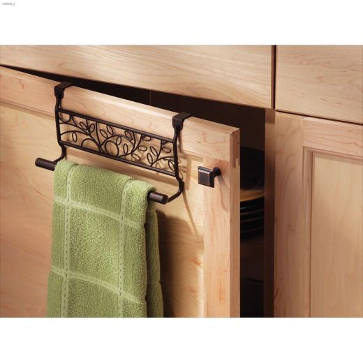 "3"" x 9.7"" x 7-1/2"" Bronze Twigz Over-Cabinet Bar"