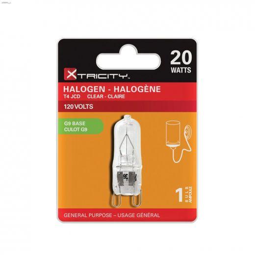 Clear 20 Watt G9 T4 JCD Halogen Bulb