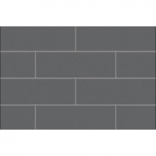 "32\"" x 1-1\/8\"" x 80-7\/8\"" Gray Utile Side Wall Panel"