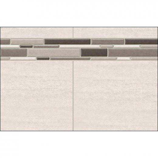 """32\"""" x 1-1\/8\"""" x 80\"""" Origin Greige Utile Side Wall Panel"""