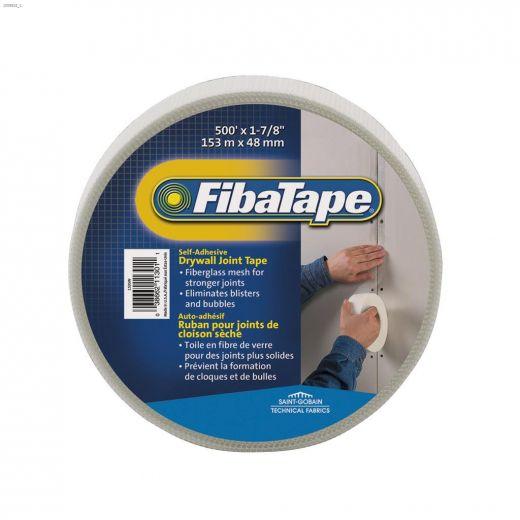 """FibaTape 500' x 1-7\/8\"""" White Mesh Joint Tape"""