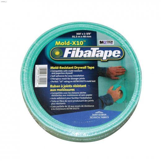 """Mold-X10\u2122 FibaTape 300' x 1-7\/8\"""" Drywall Tape"""