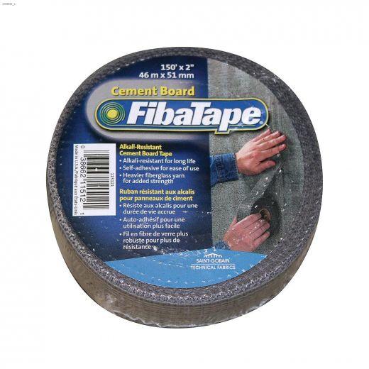"FibaTape 150' x 2\"" Gray Cement Board Tape"