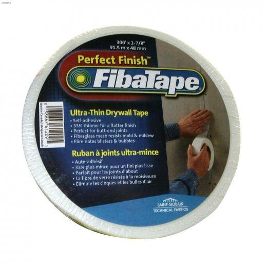 FibaTape 91-1\/2 m x 50 mm Ultra Thin Drywall Tape