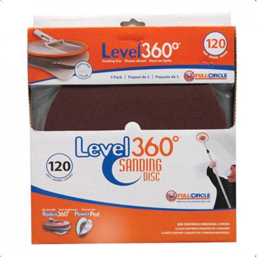 100 Grit Radius 360 Sanding Disc-5\/Pack