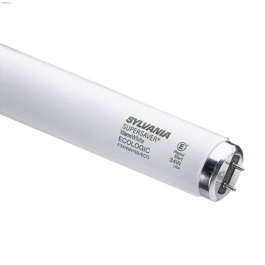 34 Watt G13 Medium Bipin T12 Fluorescent Bulb