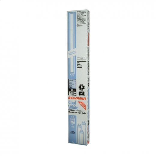 32 Watt Bi-Pin T8 Linear Fluorescent Bulb-12\/Pack