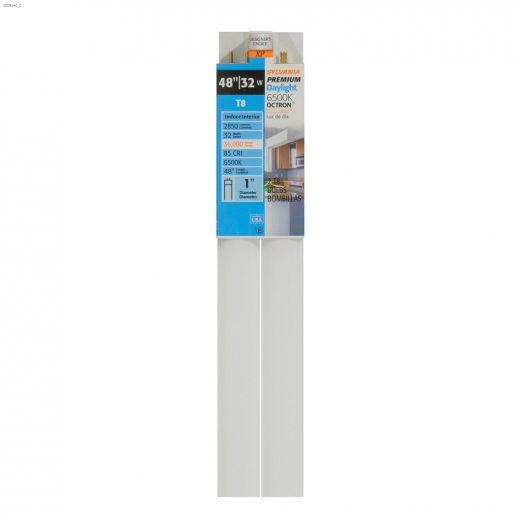 32 Watt Medium Bi-Pin T8 Fluorescent Bulb-2\/Pack