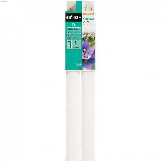 32 Watt Single Pin T8 Fluorescent Bulb-2\/Pack