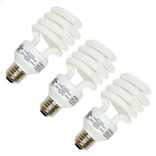 13 Watt Medium Screw Spiral CFL Bulb-12\/Pack