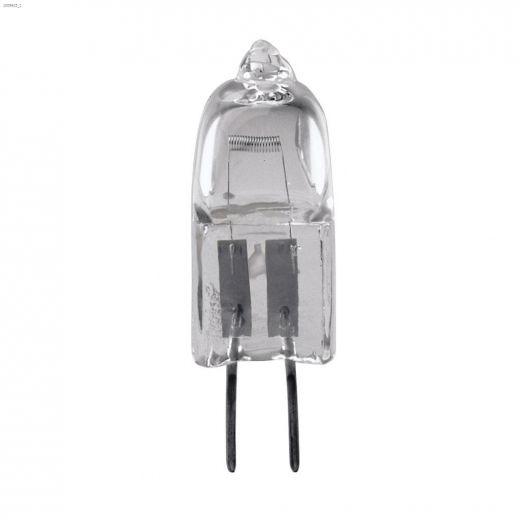Clear 10 Watt G4 Bi-Pin T3 Quartz Halogen Bulb