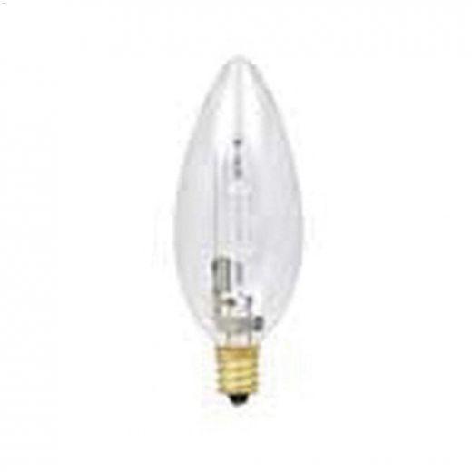 Clear 25 Watt Candelabra B11 Halogen Bulb-2\/Pack