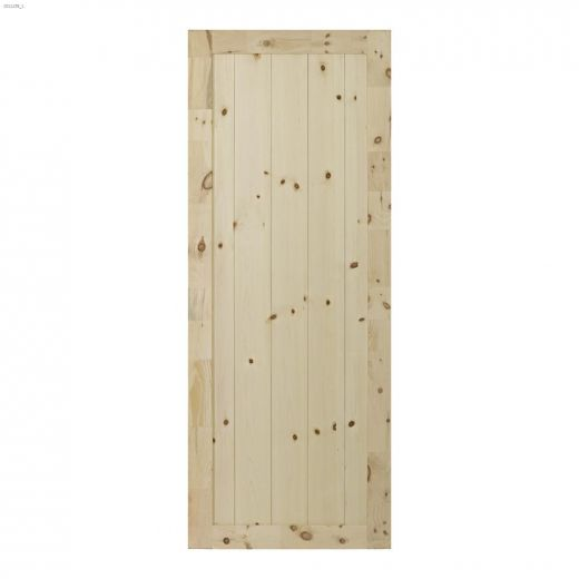 "33\"" x 84\"" Rustic Barn Interior Door"