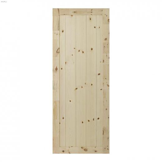 "37\"" x 84\"" Rustic Barn Interior Door"