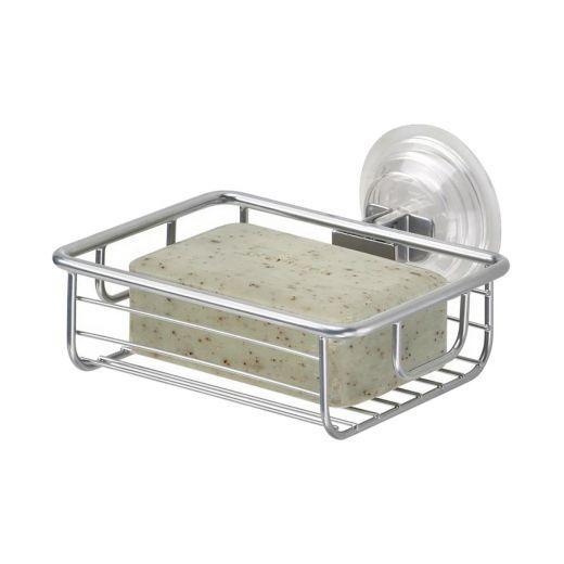 Classico Power Lock Silver Suction Soap Dish