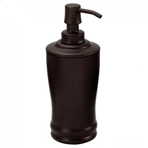 Olivia 8 oz Bronze Tall Soap & Lotion Dispenser