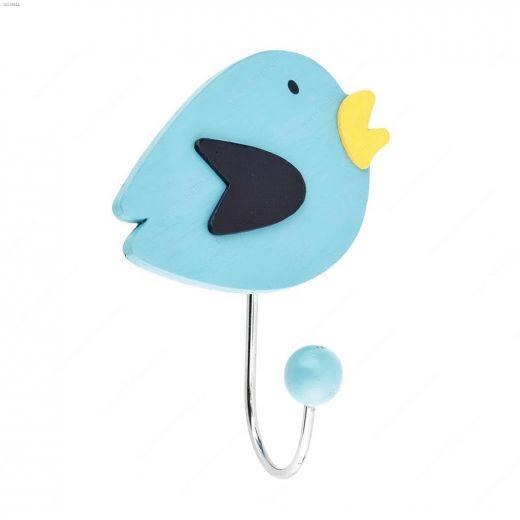 """1-27\/32\"""" Blue Eclectic Bird Hook"""
