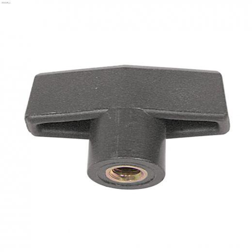 1\/4-20 Steel Zinc Plated Bar Knob-1\/Pack