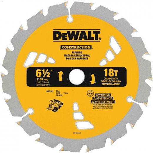 "Small Dia Construction Circular Saw Blade 7-1\/4\"" 18 Teeth"