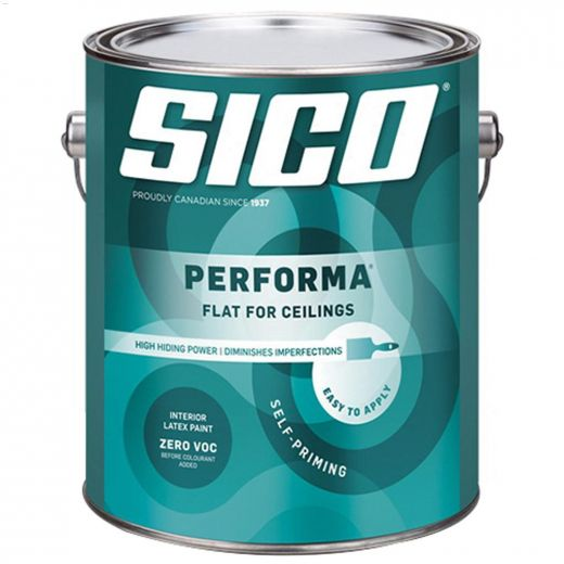 18.9 L Flat 610-550 White Performa Ceiling Paint