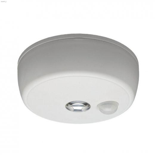 100 Lumens White Wireless Motion Sensing LED Ceiling Light