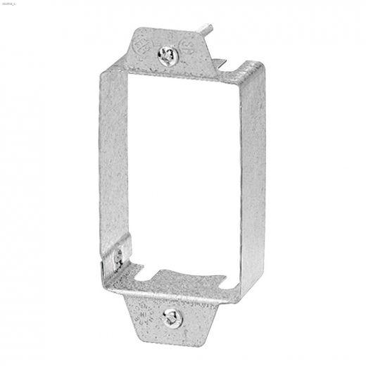 "2\"" x 3\"" x 7\/8\"" Adjustable Steel Device Box Extension"