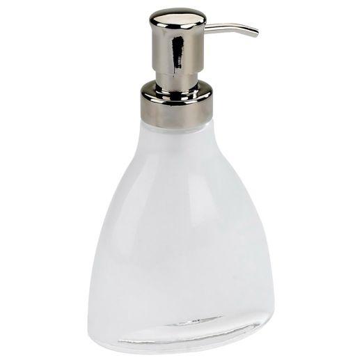 Vapor 11 oz Translucent White Soap Pump