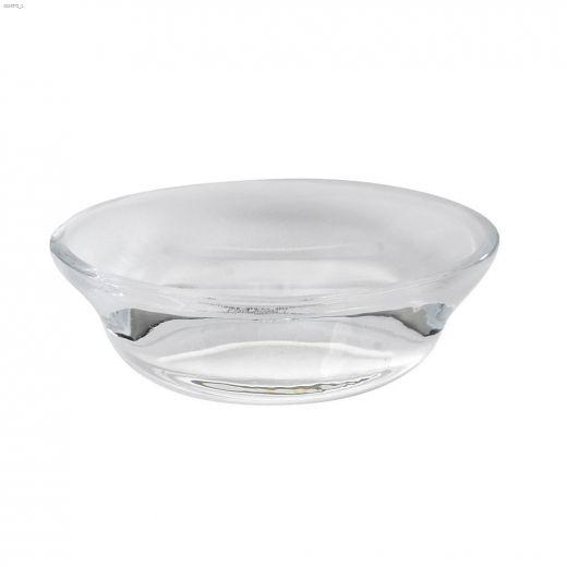 Vapor Translucent White Soap Dish