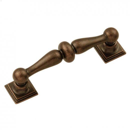 "3\"" Dark Antique Copper Sommerset Cabinet Pull"