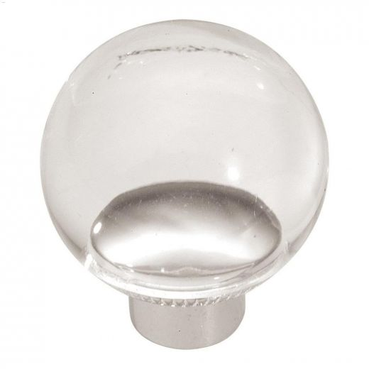 """1-1\/4\"""" Lucite Midway Cabinet Knob"""
