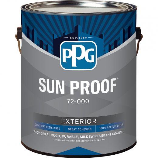 Sun Proof 1 gal Semi Gloss Exterior Latex Paint
