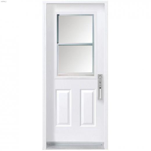 """34\"""" x 80\"""" Vented Exterior Steel Door"""