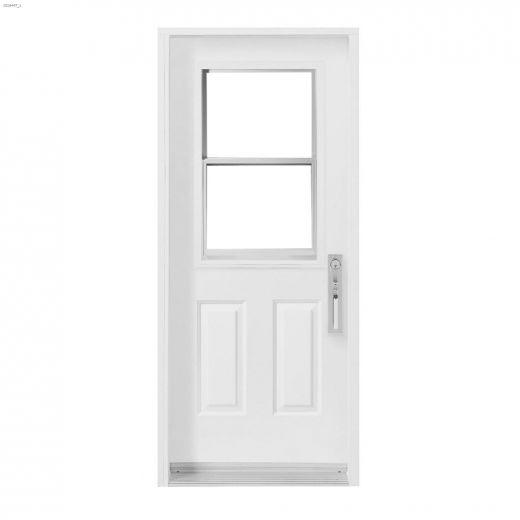 """36\"""" x 80\"""" Vented Exterior Steel Door"""