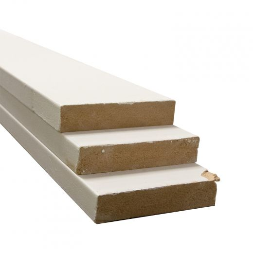 1 x 4 x 8' MDF Primed Board