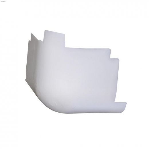 "3\/4"" Radius 3-Way Inside Molded Corner"
