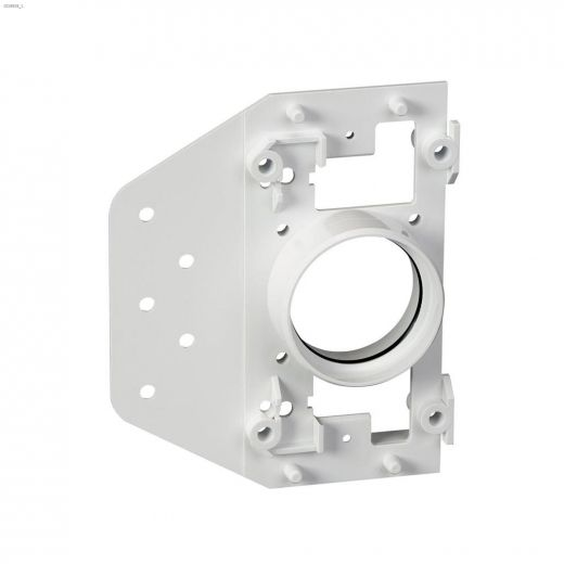 White Wall Inlet Plate With Plaster Guard