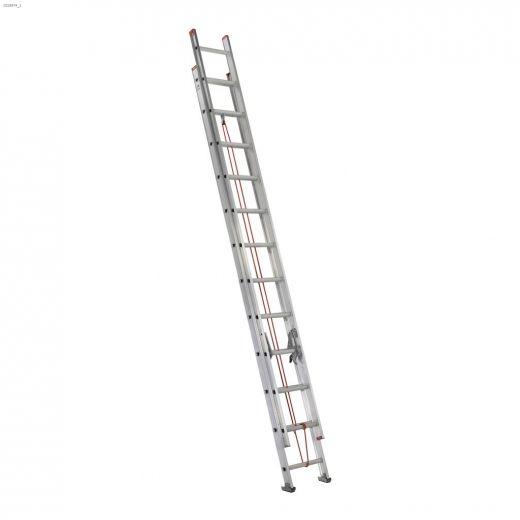 24' Aluminum Type 3 Household Extension Ladder