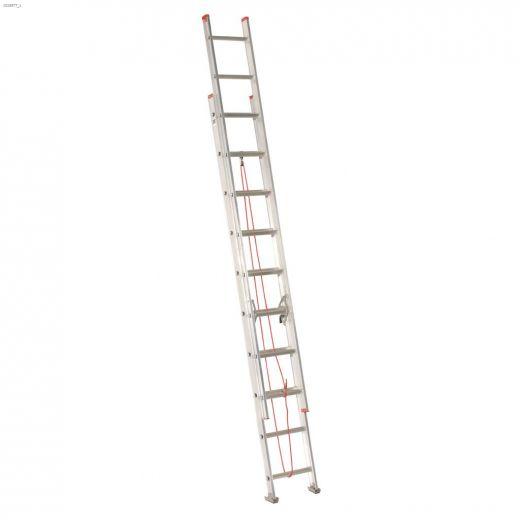 20' Aluminum Type 3 Household Extension Ladder