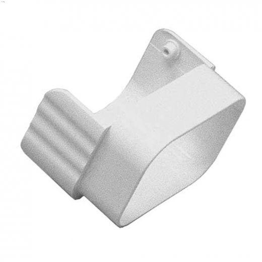 White PVC Diverter