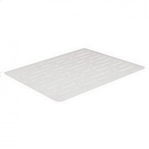 Microban\u2122 White Small Sink Mat