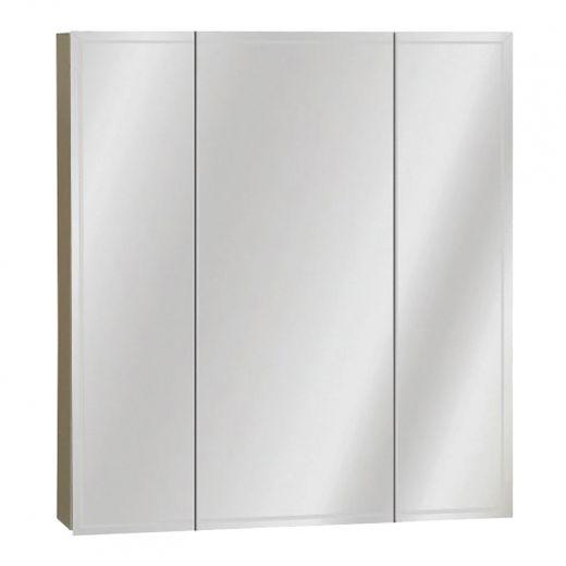"""25-1/2"""" x 23.63"""" White Medicine Cabinet"""
