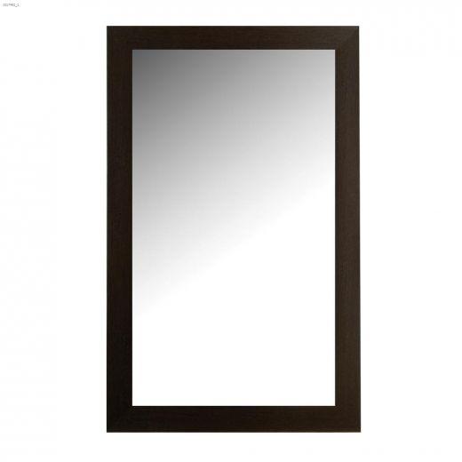"""Images 2000 26-1\/2\"""" x 1\/2\"""" x 37-1\/2\"""" Espresso Mirror"""