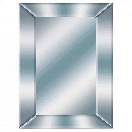"Mitre 24\"" x 36\"" Bevel Decorative Mirror"