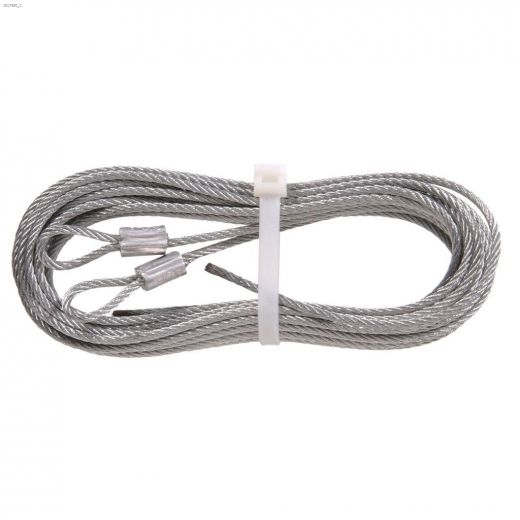 """1\/8\"""" x 12' Galvanized Extension Spring Lift Cable"""